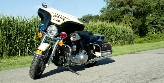 Pittsburgh Police Motorcycle